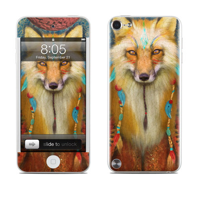iPod Touch 5G Skin - Wise Fox