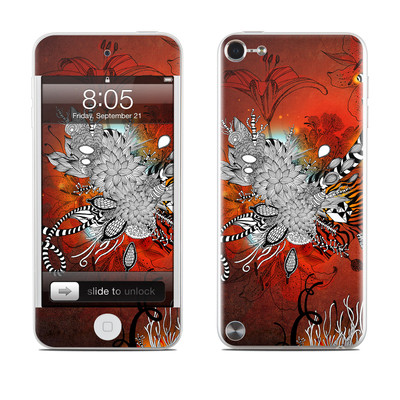 iPod Touch 5G Skin - Wild Lilly