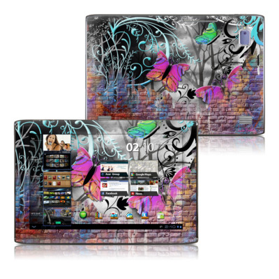 Acer Iconia Tab A500 Skin - Butterfly Wall