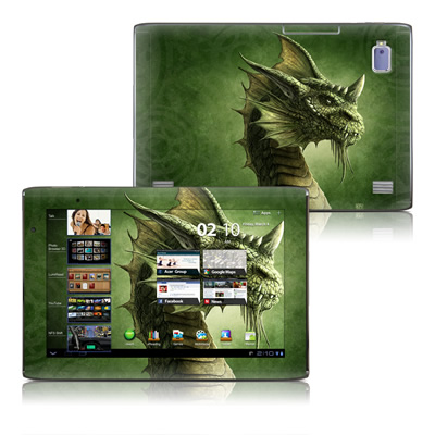 Acer Iconia Tab A500 Skin - Green Dragon