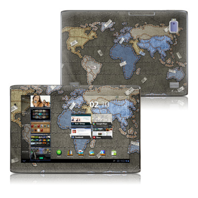 Acer Iconia Tab A500 Skin - Jean Map