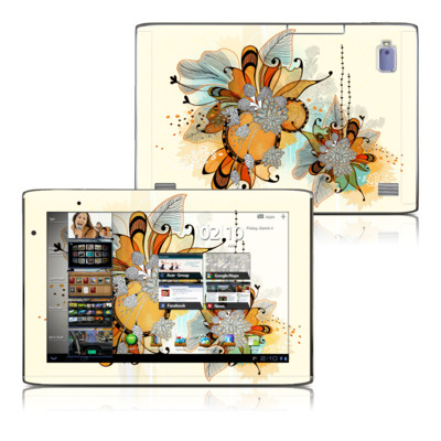 Acer Iconia Tab A500 Skin - Sunset Flowers