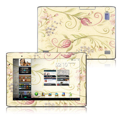 Acer Iconia Tab A500 Skin - Tulip Scroll