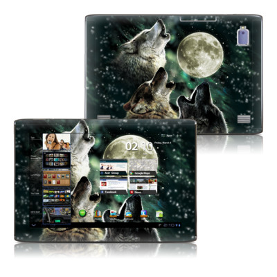 Acer Iconia Tab A500 Skin - Three Wolf Moon