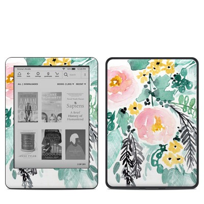 Amazon Kindle 10th Gen Skin - Blushed Flowers