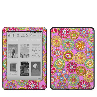 Amazon Kindle 10th Gen Skin - Bright Flowers