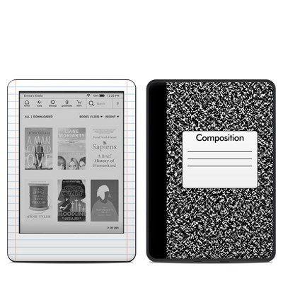 Amazon Kindle 10th Gen Skin - Composition Notebook