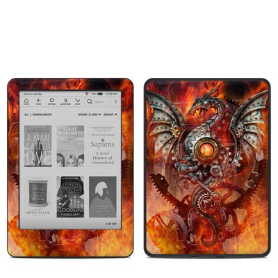 Amazon Kindle 10th Gen Skin - Furnace Dragon