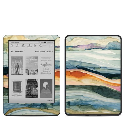 Amazon Kindle 10th Gen Skin - Layered Earth