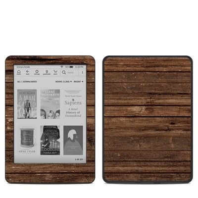 Amazon Kindle 10th Gen Skin - Stripped Wood
