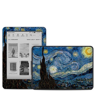 Amazon Kindle 10th Gen Skin - Starry Night