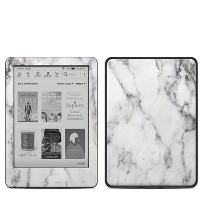Amazon Kindle 10th Gen Skin - White Marble