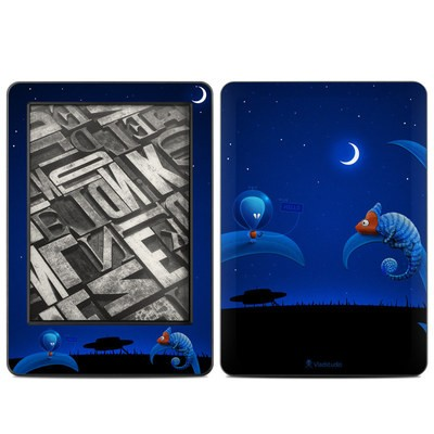 Amazon Kindle 2014 Skin - Alien and Chameleon