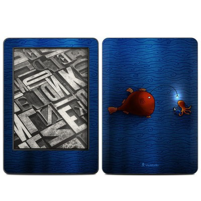 Amazon Kindle 2014 Skin - Angler Fish