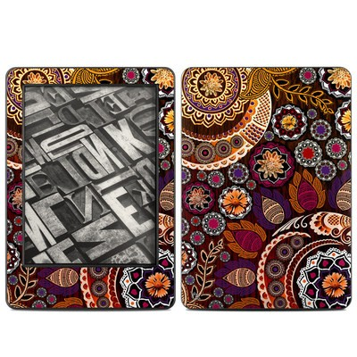 Amazon Kindle 2014 Skin - Autumn Mehndi