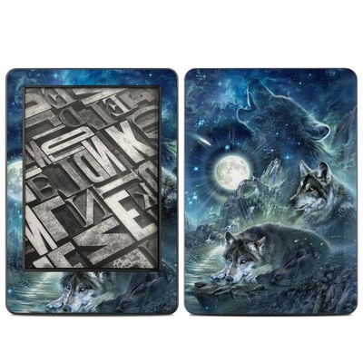 Amazon Kindle 2014 Skin - Bark At The Moon