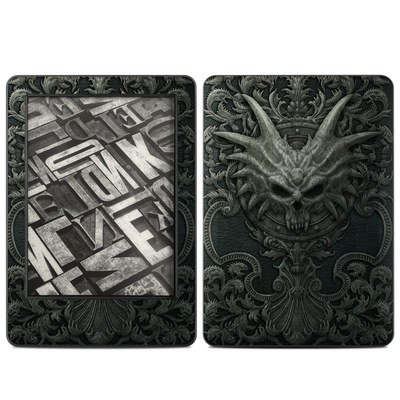 Amazon Kindle 2014 Skin - Black Book