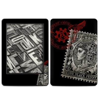 Amazon Kindle 2014 Skin - Black Penny