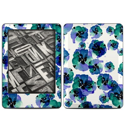 Amazon Kindle 2014 Skin - Blue Eye Flowers