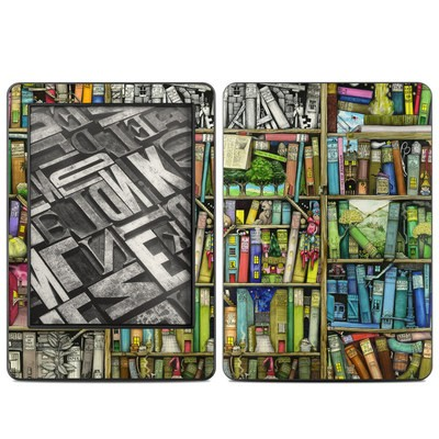 Amazon Kindle 2014 Skin - Bookshelf