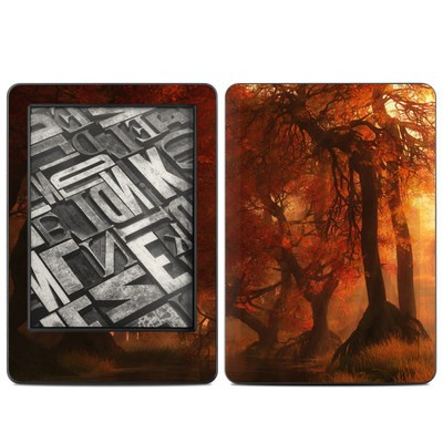 Amazon Kindle 2014 Skin - Canopy Creek Autumn