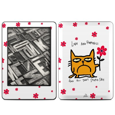 Amazon Kindle 2014 Skin - Catwad Happy
