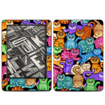 Amazon Kindle 2014 Skin - Colorful Kittens