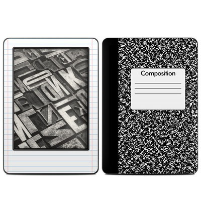 Amazon Kindle 2014 Skin - Composition Notebook