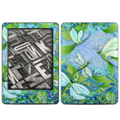 Amazon Kindle 2014 Skin - Dragonfly Fantasy