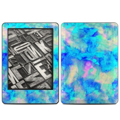 Amazon Kindle 2014 Skin - Electrify Ice Blue
