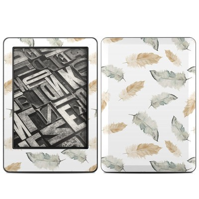 Amazon Kindle 2014 Skin - Feathers