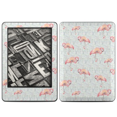Amazon Kindle 2014 Skin - Flamingo Mosaic