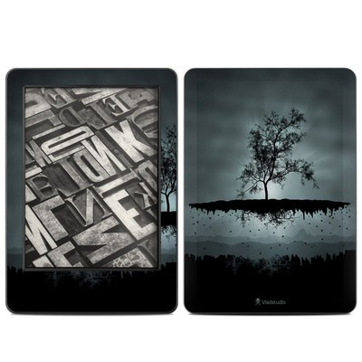 Amazon Kindle 2014 Skin - Flying Tree Black