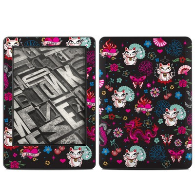 Amazon Kindle 2014 Skin - Geisha Kitty