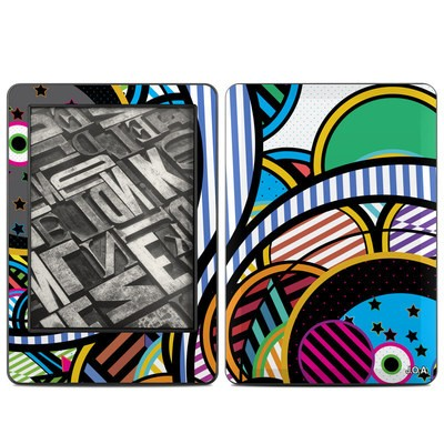 Amazon Kindle 2014 Skin - Hula Hoops