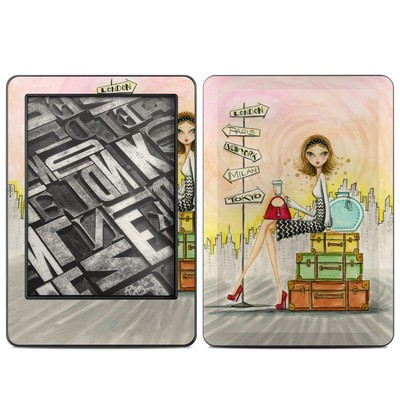 Amazon Kindle 2014 Skin - The Jet Setter