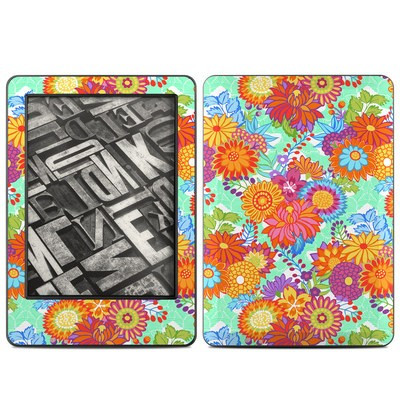 Amazon Kindle 2014 Skin - Jubilee Blooms