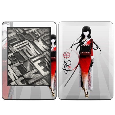 Amazon Kindle 2014 Skin - Kokeshi