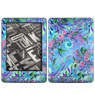 Amazon Kindle 2014 Skin - Lavender Flowers