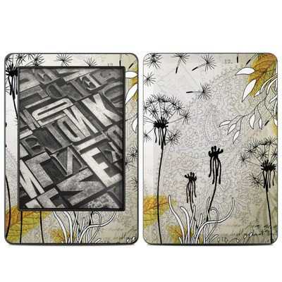 Amazon Kindle 2014 Skin - Little Dandelion