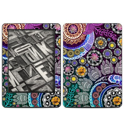 Amazon Kindle 2014 Skin - Mehndi Garden