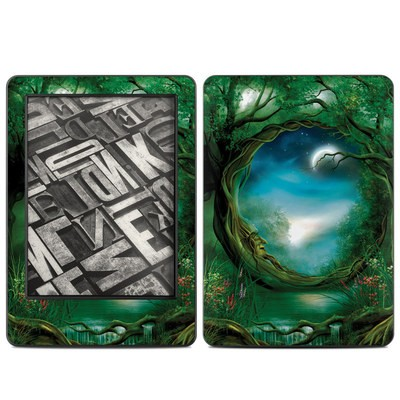 Amazon Kindle 2014 Skin - Moon Tree