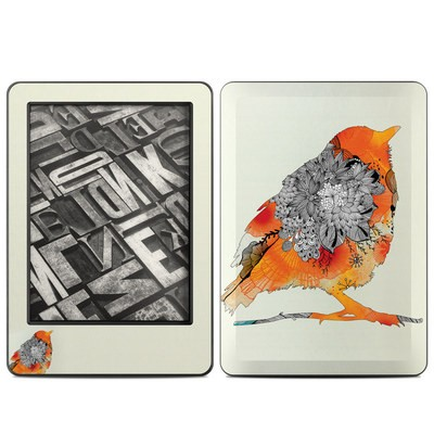 Amazon Kindle 2014 Skin - Orange Bird