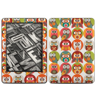 Amazon Kindle 2014 Skin - Owls Family