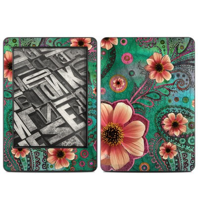 Amazon Kindle 2014 Skin - Paisley Paradise