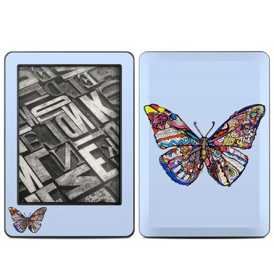 Amazon Kindle 2014 Skin - Pieced Butterfly