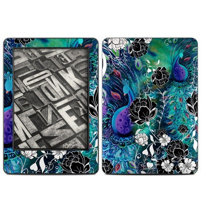 Amazon Kindle 2014 Skin - Peacock Garden