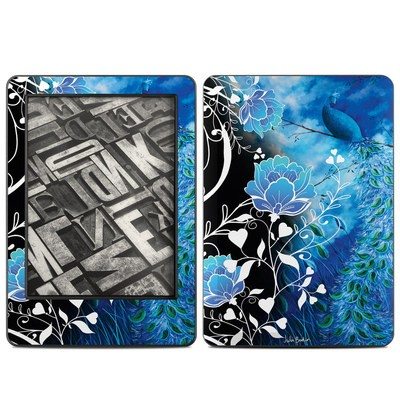 Amazon Kindle 2014 Skin - Peacock Sky
