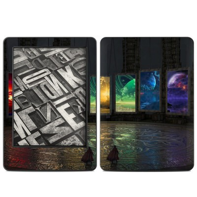 Amazon Kindle 2014 Skin - Portals