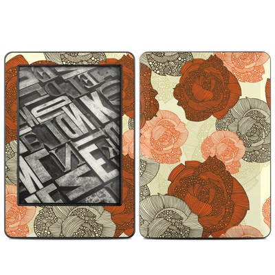 Amazon Kindle 2014 Skin - Roses